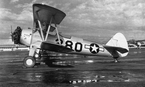 Boeing pt 13d stearman