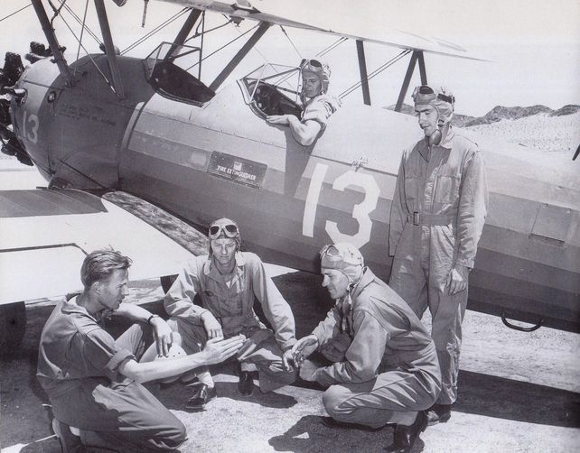 Boeing pt 17 stearman b