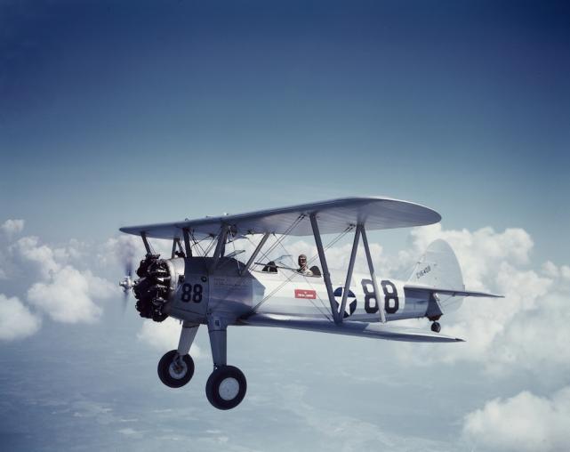 Boeing pt 17 stearman buno 42 16408