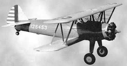 Boeing pt 17 stearman c