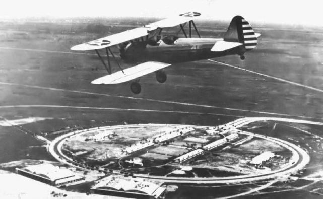 Boeing pt 17 stearman carlstrom field 1942