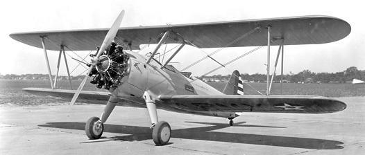 Boeing pt 18 stearman b