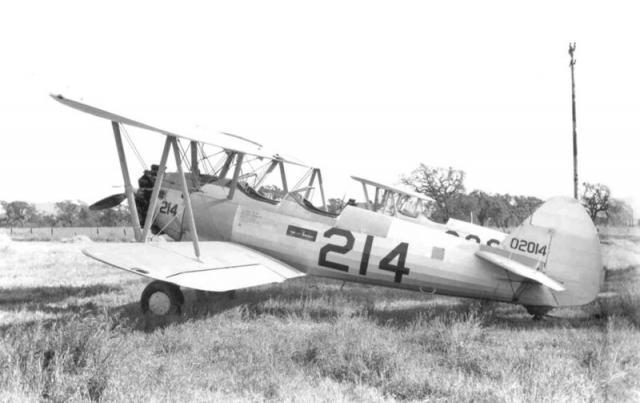 Boeing pt 18 stearman