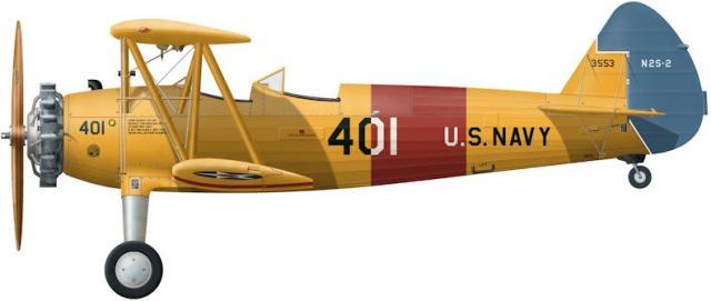 Boeing stearman n2s 2 b
