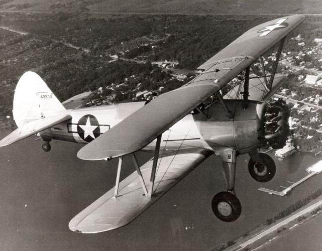 Boeing stearman n2s5 kaydet