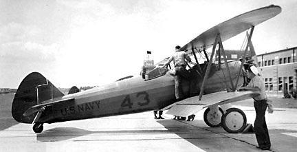 Boeing stearman ns 1