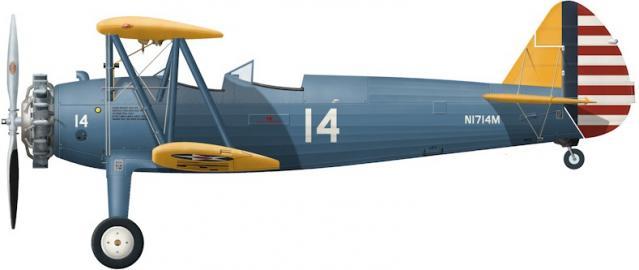 Boeing stearman pt 13d