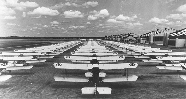Pt 13 stearmans at randolph field texas 1930s 1